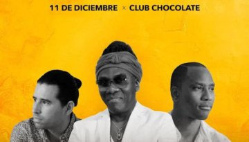 Richard Bona - Club Chocolate - 11 de diciembre