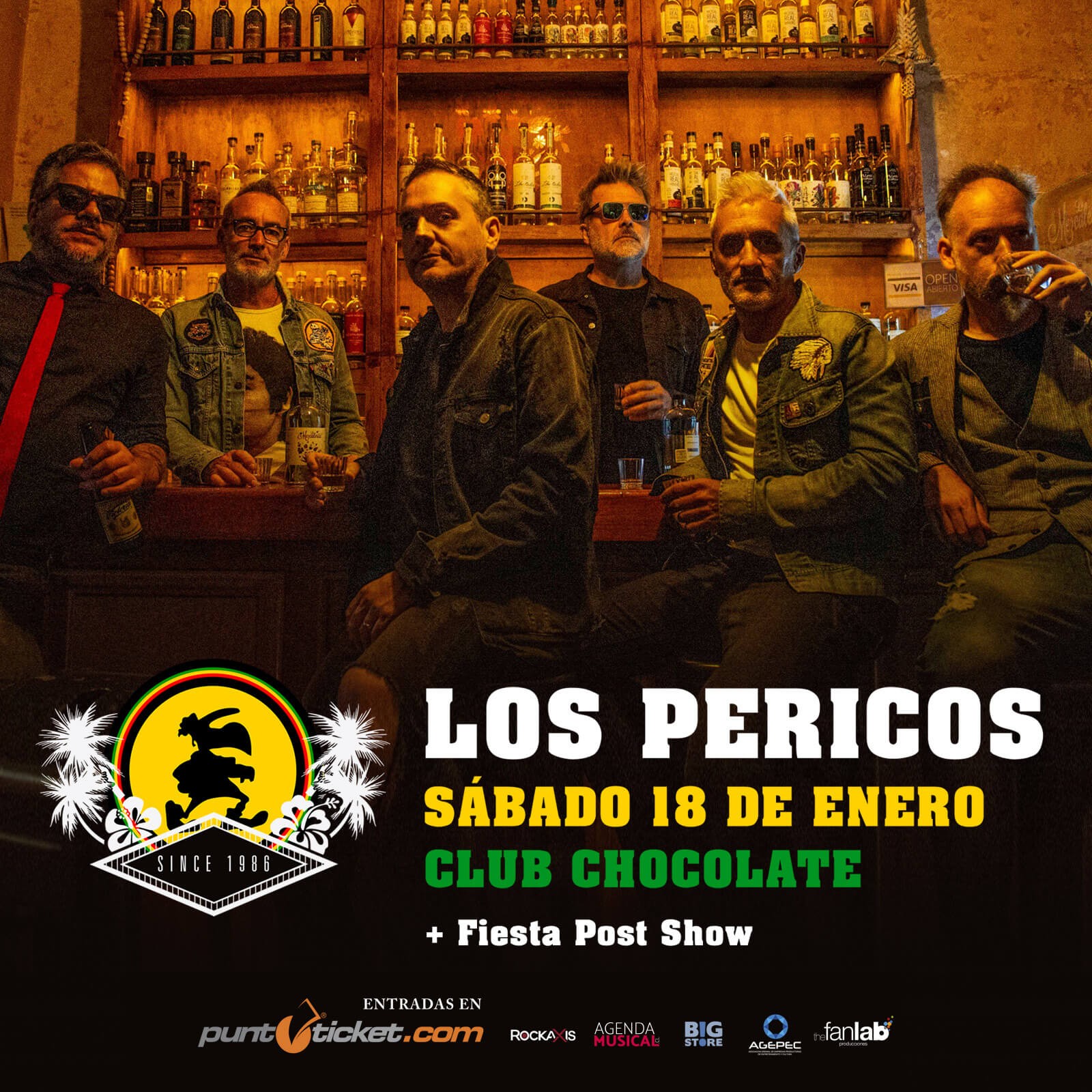 Los Pericos - Club Chocolate - 18 de enero